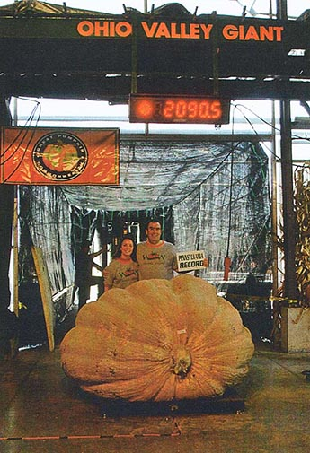 Dave and Carol Stelts - 1st, 2090.5# - Pennsylvania Record